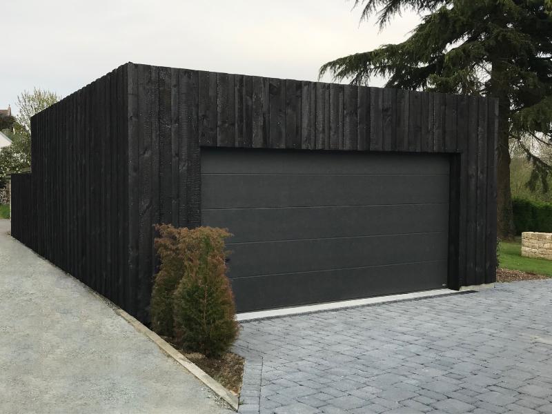 Bardage bois brulé douglas finition extreme Guillaume TALMONT Artisan Designer